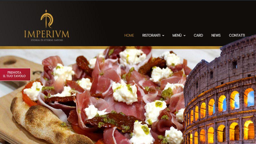 Imperivm, Home Page nuovo sito