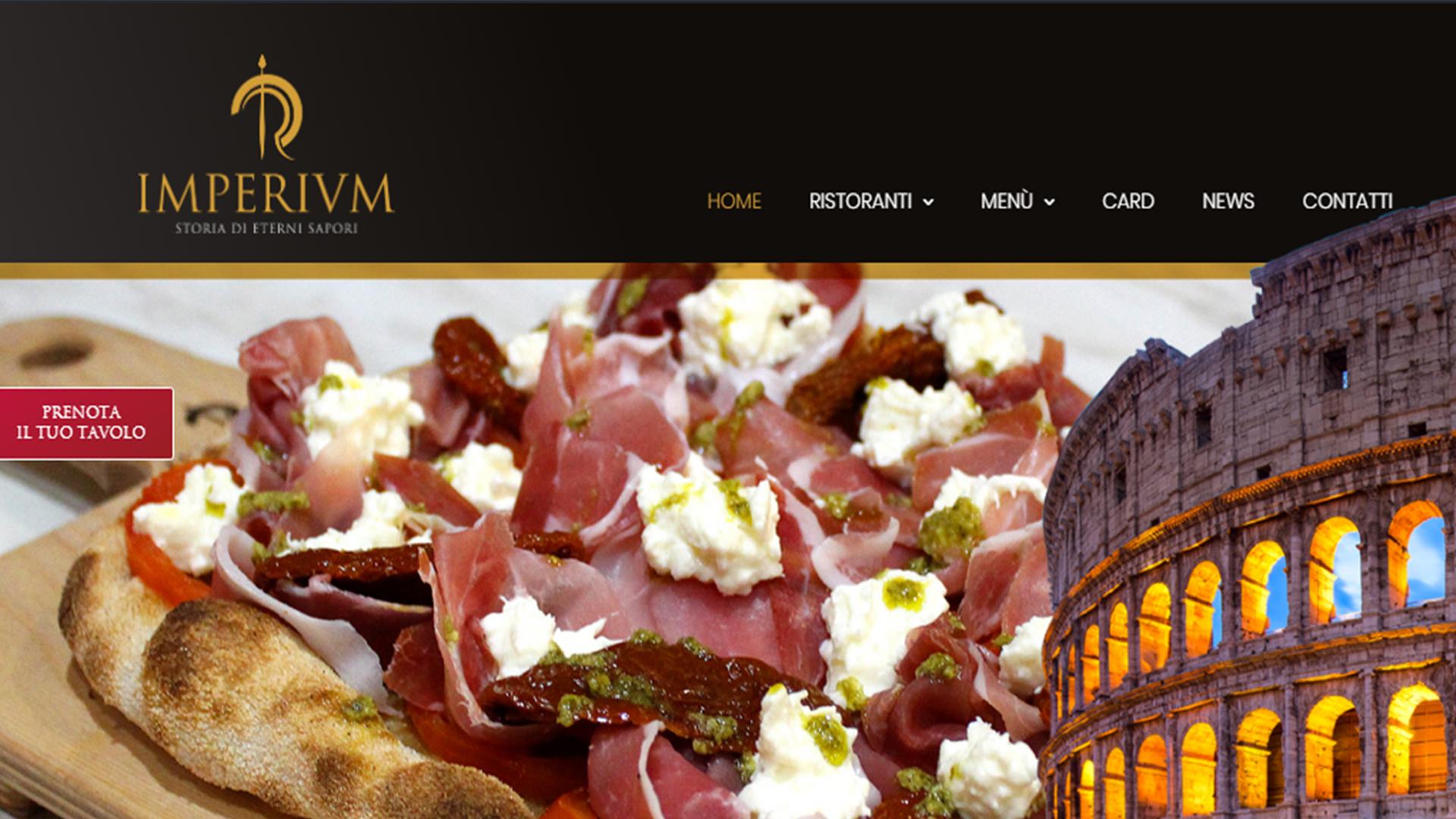 Imperivm: il nuovo sito del ristorante tematico